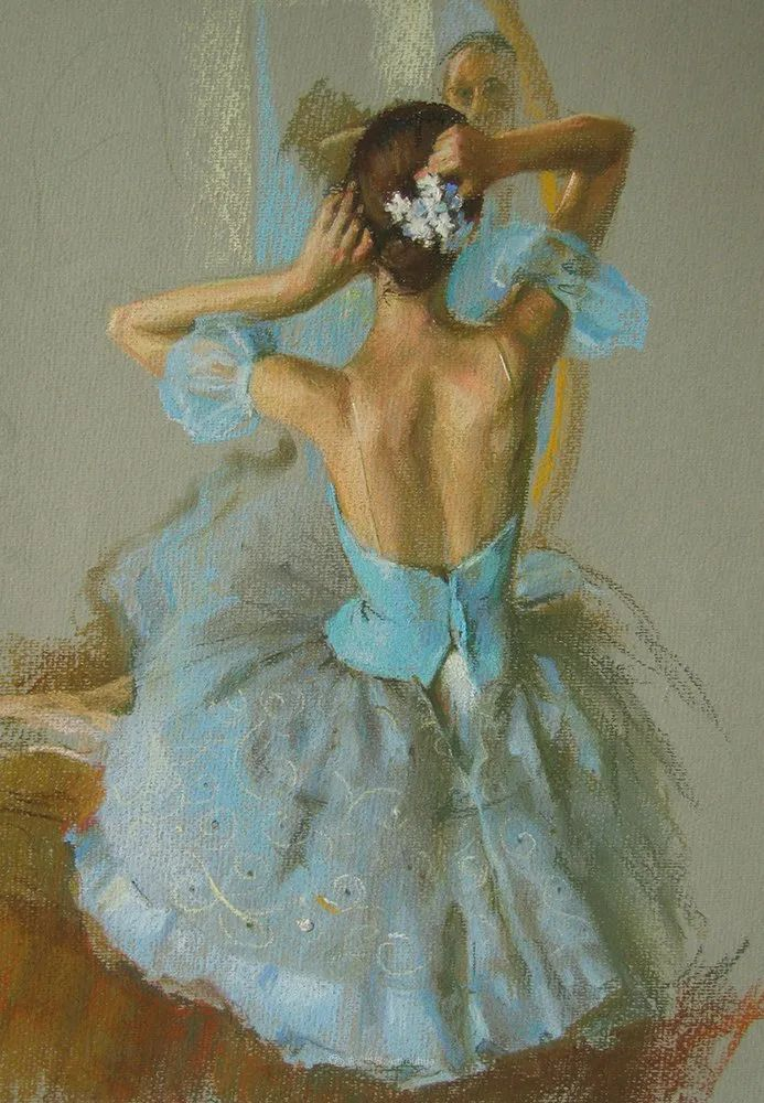 她的色粉芭蕾,舞姿律动,身姿瘦削!插图105