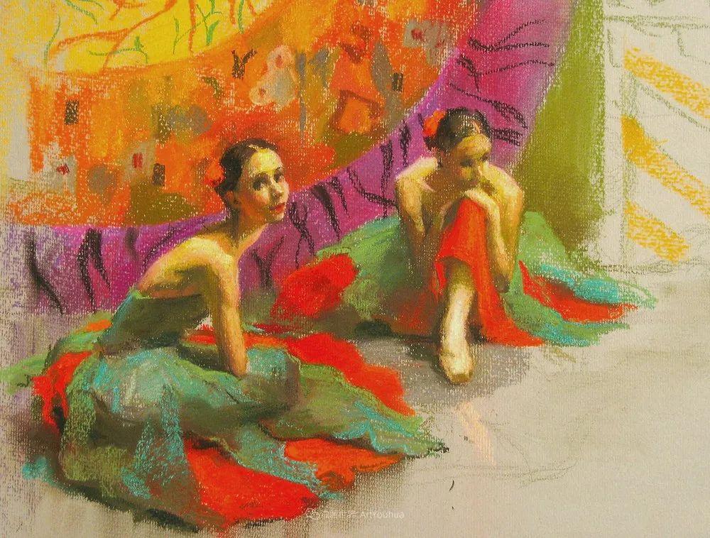 她的色粉芭蕾,舞姿律动,身姿瘦削!插图107