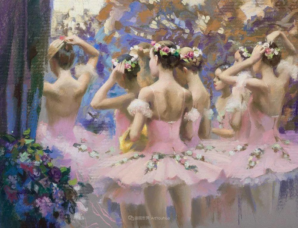 她的色粉芭蕾,舞姿律动,身姿瘦削!插图109