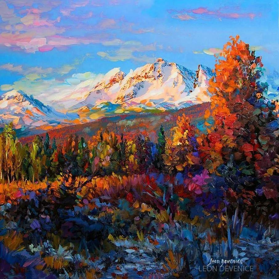 不惧于融合大胆的色彩,描绘大自然的雄伟之美插图1