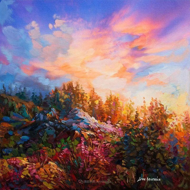 不惧于融合大胆的色彩,描绘大自然的雄伟之美插图9