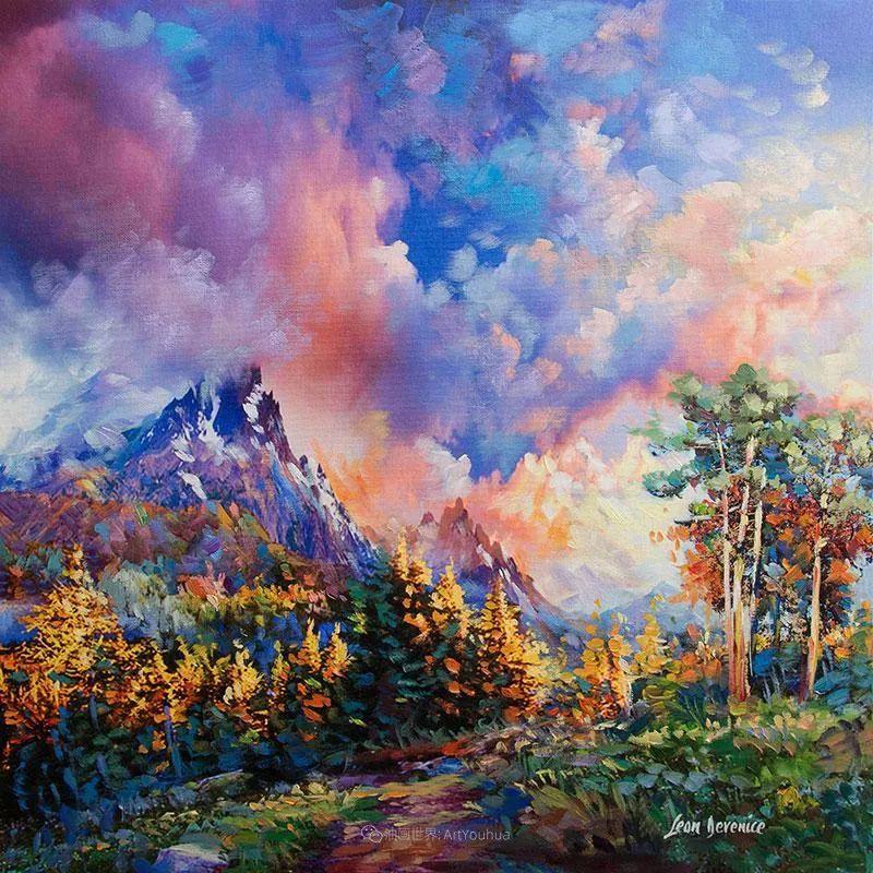 不惧于融合大胆的色彩,描绘大自然的雄伟之美插图11