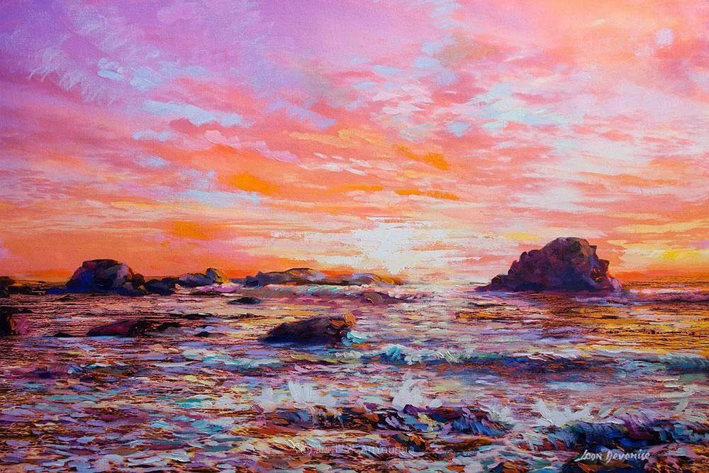 不惧于融合大胆的色彩,描绘大自然的雄伟之美插图27