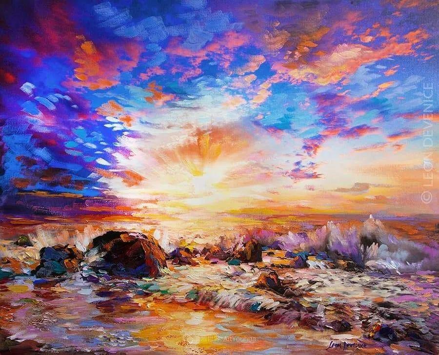 不惧于融合大胆的色彩,描绘大自然的雄伟之美插图29