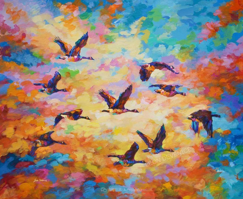 不惧于融合大胆的色彩,描绘大自然的雄伟之美插图43