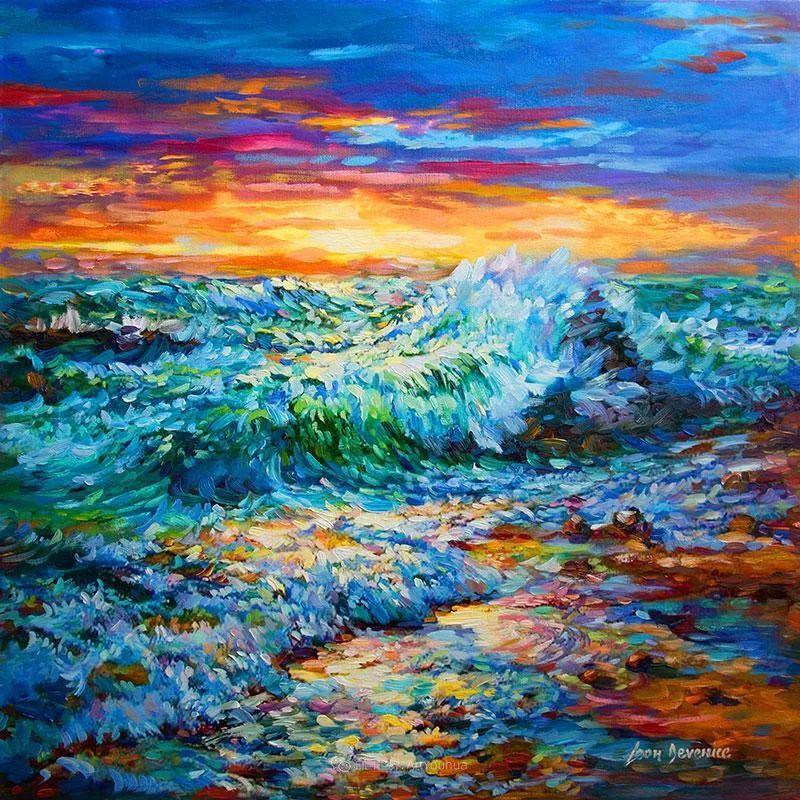 不惧于融合大胆的色彩,描绘大自然的雄伟之美插图81
