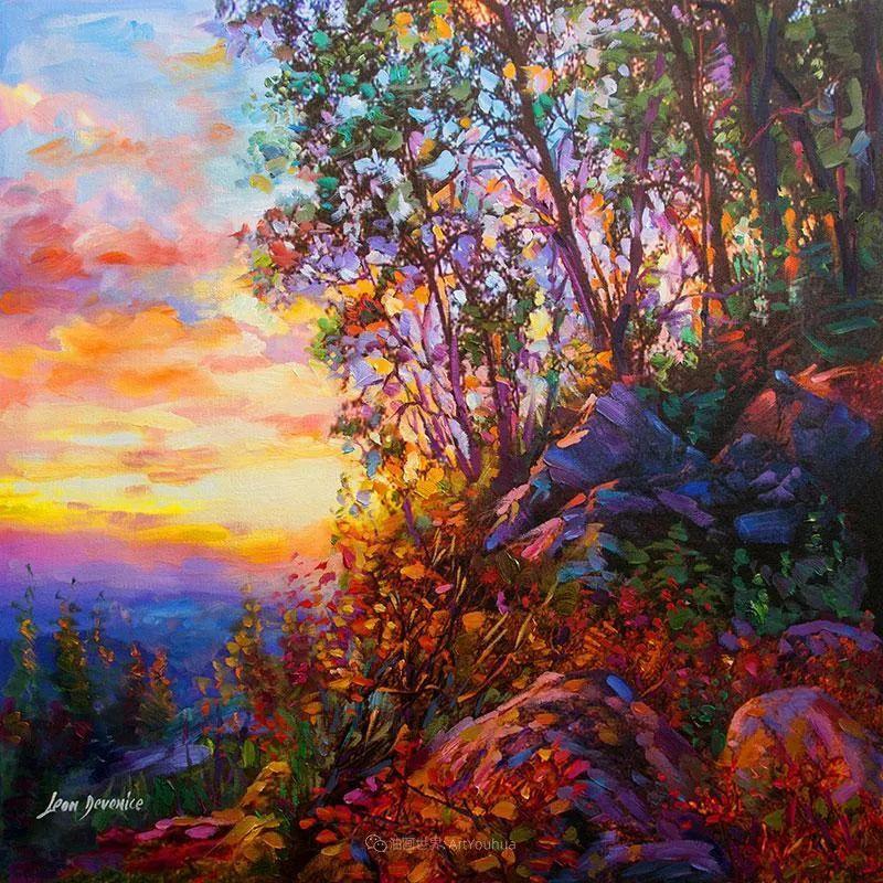 不惧于融合大胆的色彩,描绘大自然的雄伟之美插图107