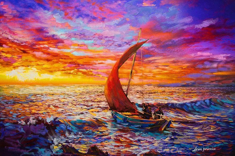 不惧于融合大胆的色彩,描绘大自然的雄伟之美插图115