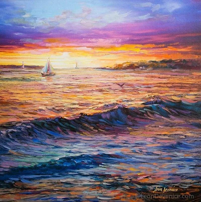不惧于融合大胆的色彩,描绘大自然的雄伟之美插图125