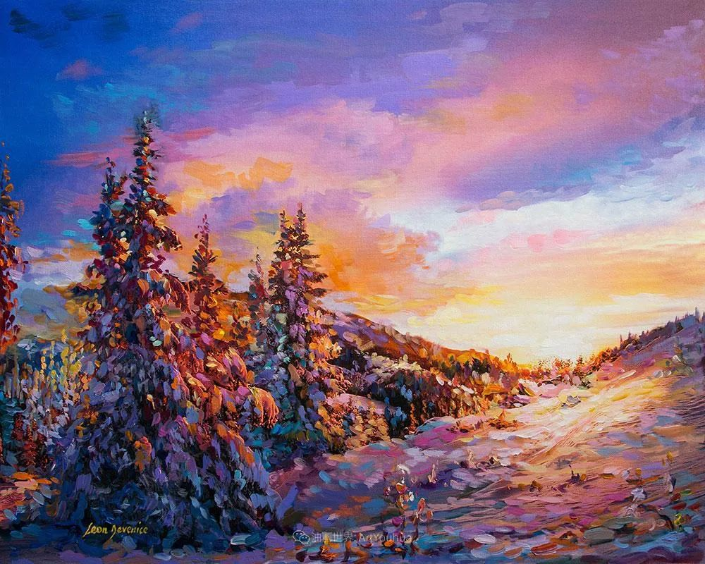 不惧于融合大胆的色彩,描绘大自然的雄伟之美插图127
