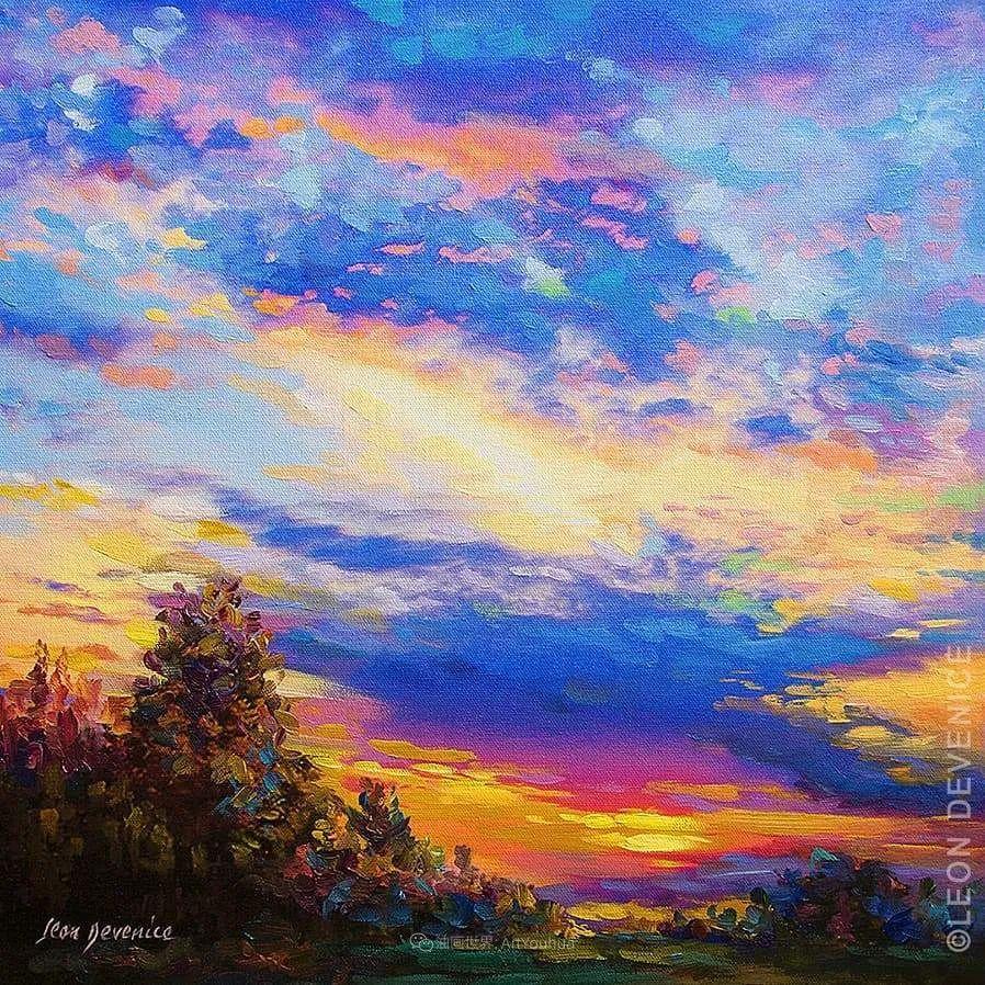 不惧于融合大胆的色彩,描绘大自然的雄伟之美插图129