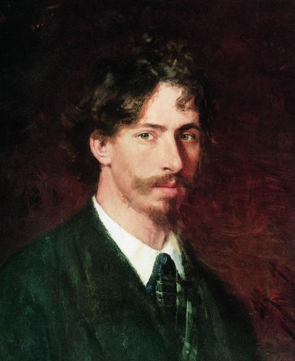 列宾 | 男性肖像作品精选 170幅插图1