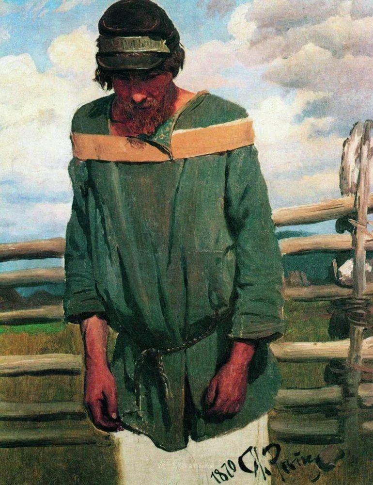 列宾 | 男性肖像作品精选 170幅插图11