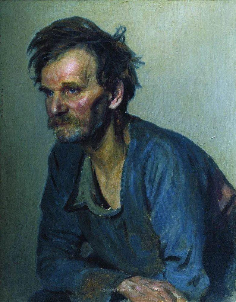 列宾 | 男性肖像作品精选 170幅插图17