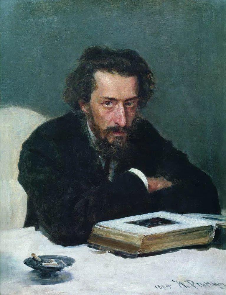 列宾 | 男性肖像作品精选 170幅插图27