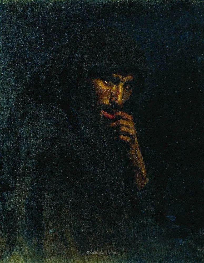 列宾 | 男性肖像作品精选 170幅插图45