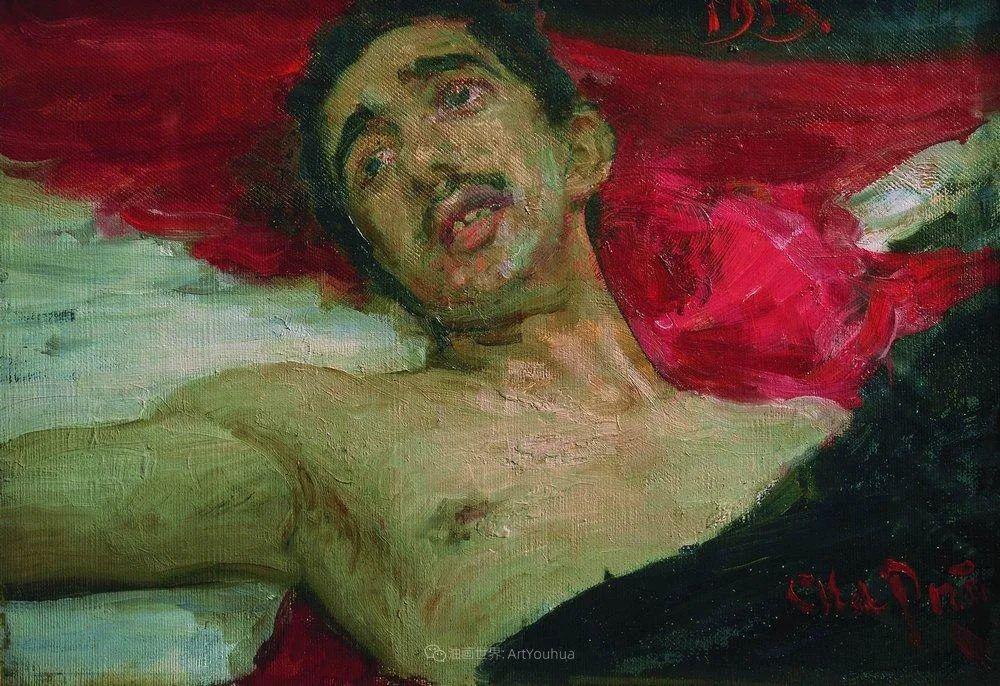 列宾 | 男性肖像作品精选 170幅插图107