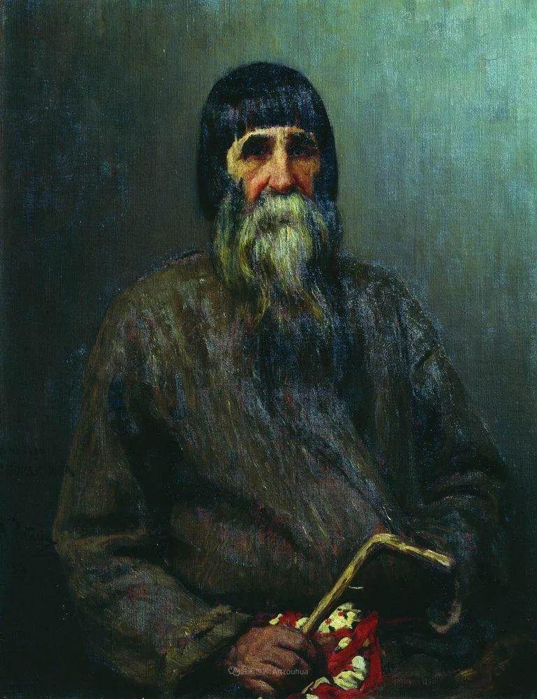 列宾 | 男性肖像作品精选 170幅插图115