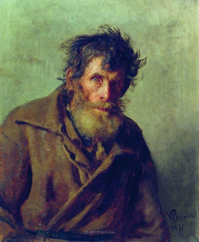 列宾 | 男性肖像作品精选 170幅插图117