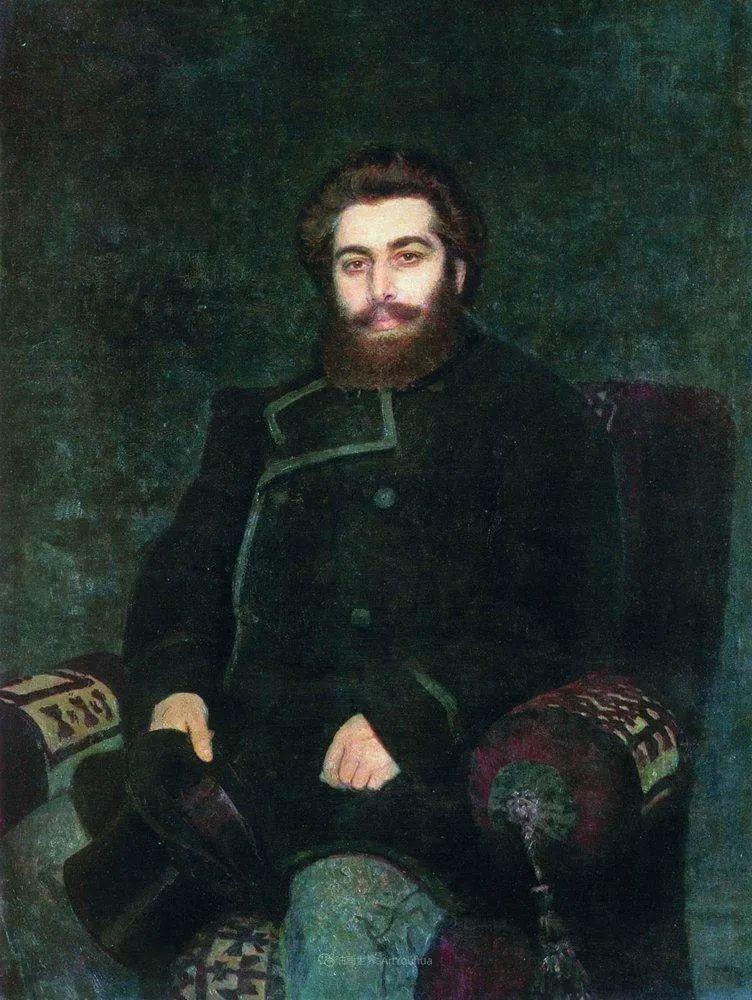 列宾 | 男性肖像作品精选 170幅插图131