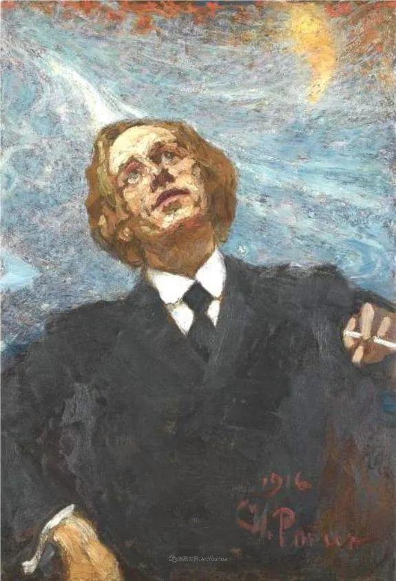 列宾 | 男性肖像作品精选 170幅插图137