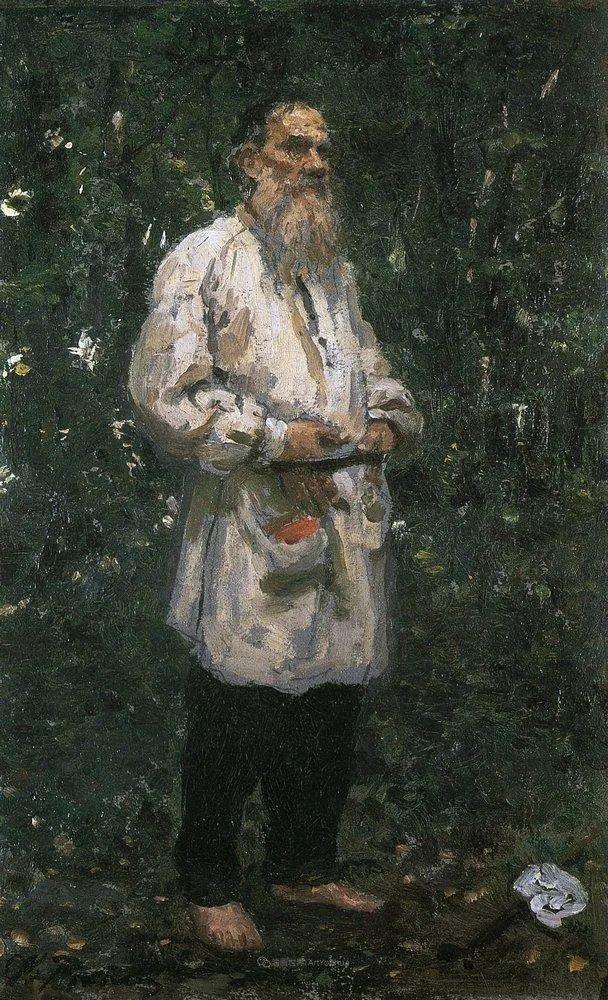 列宾 | 男性肖像作品精选 170幅插图161