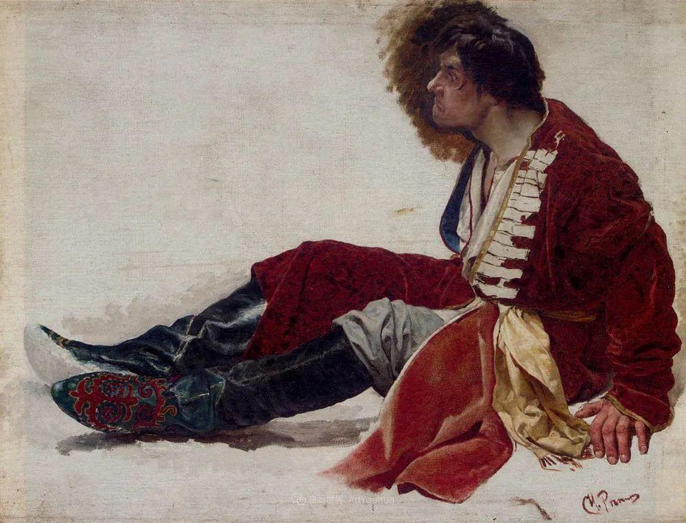 列宾 | 男性肖像作品精选 170幅插图173