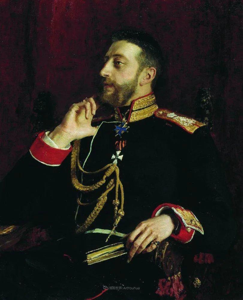 列宾 | 男性肖像作品精选 170幅插图175