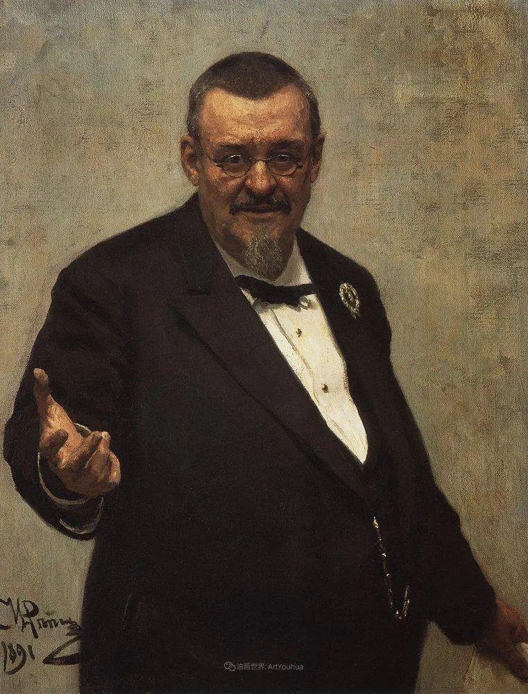 列宾 | 男性肖像作品精选 170幅插图179