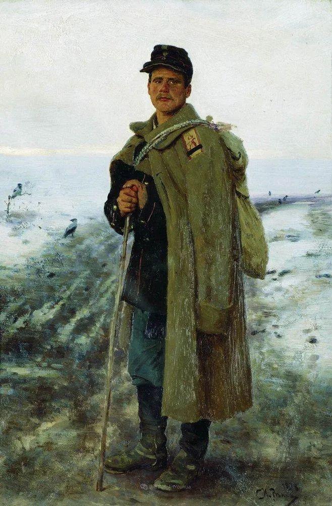 列宾 | 男性肖像作品精选 170幅插图181