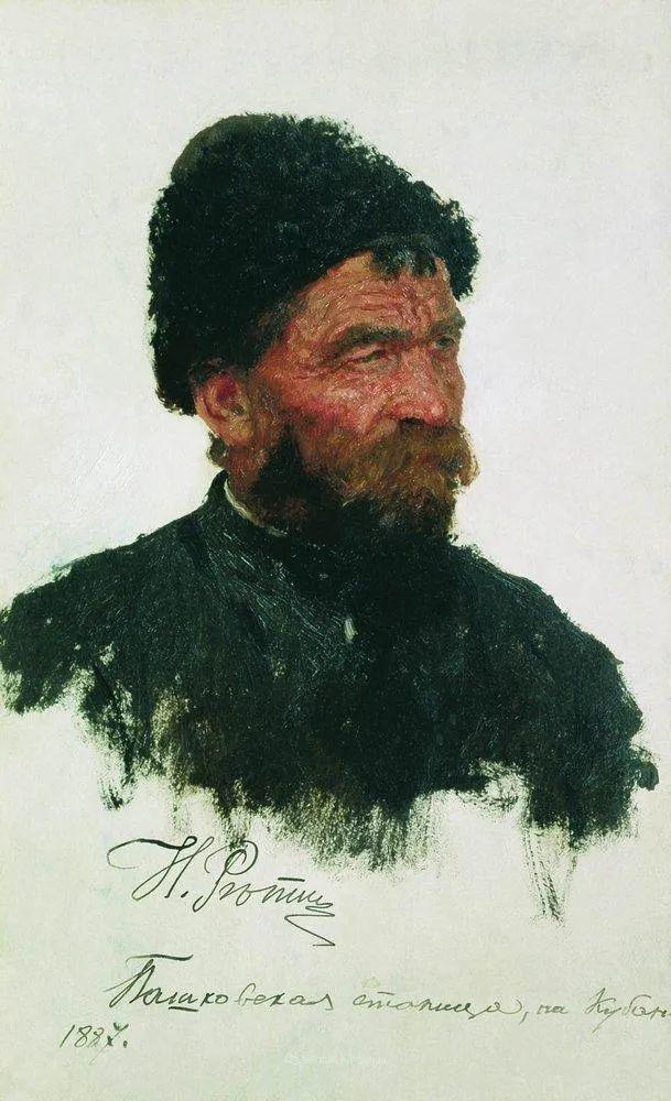 列宾 | 男性肖像作品精选 170幅插图187