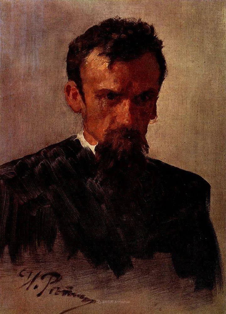 列宾 | 男性肖像作品精选 170幅插图193