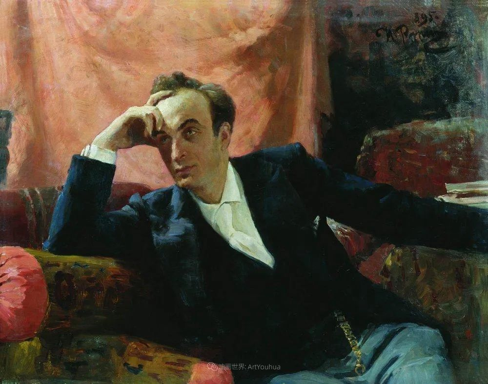 列宾 | 男性肖像作品精选 170幅插图209