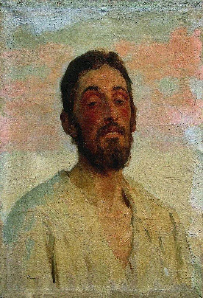 列宾 | 男性肖像作品精选 170幅插图219