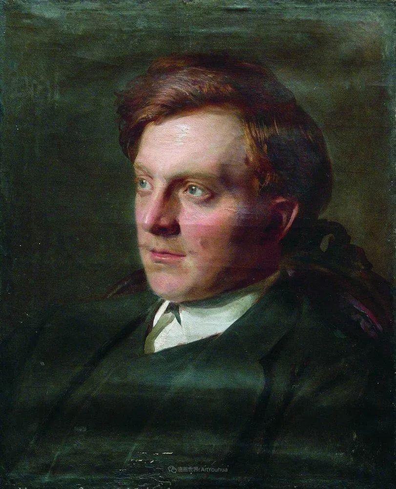 列宾 | 男性肖像作品精选 170幅插图231