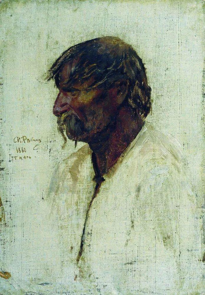 列宾 | 男性肖像作品精选 170幅插图257