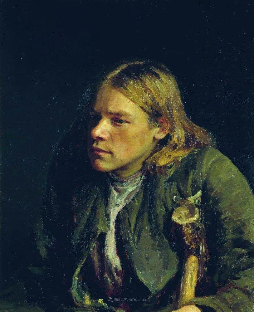 列宾 | 男性肖像作品精选 170幅插图263