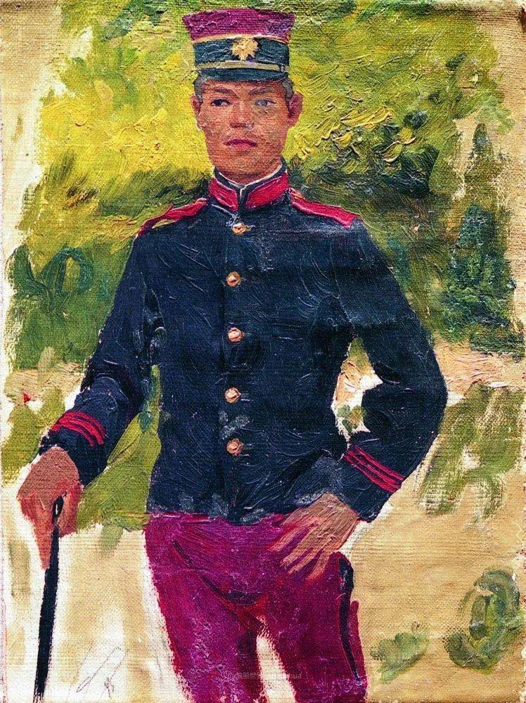 列宾 | 男性肖像作品精选 170幅插图271