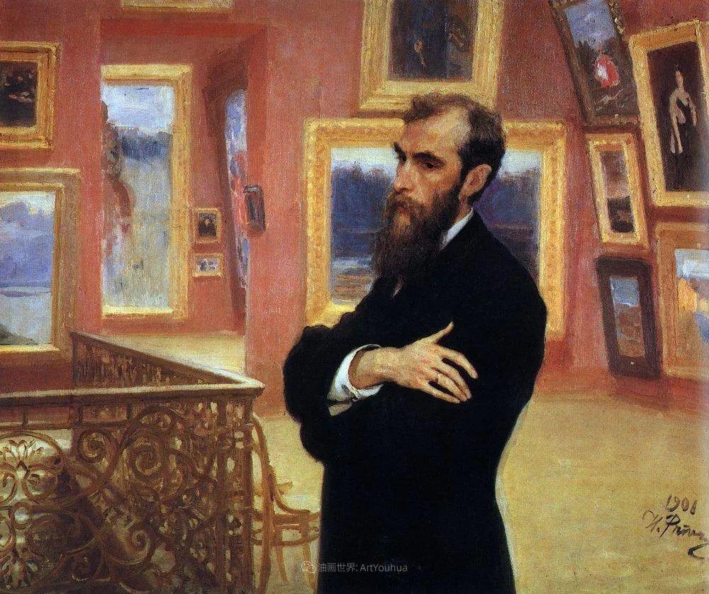 列宾 | 男性肖像作品精选 170幅插图283