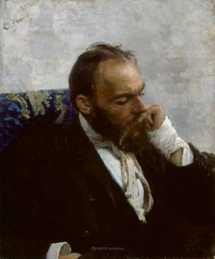 列宾 | 男性肖像作品精选 170幅插图299