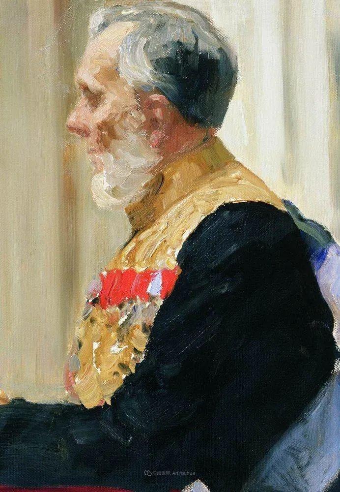 列宾 | 男性肖像作品精选 170幅插图307