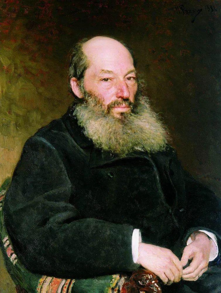 列宾 | 男性肖像作品精选 170幅插图313