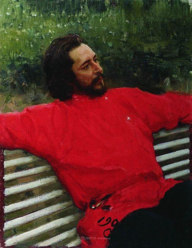 列宾 | 男性肖像作品精选 170幅插图341