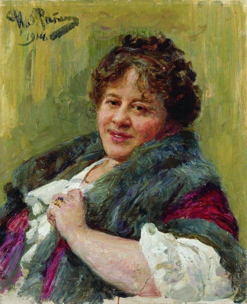 列宾 | 女性肖像作品精选 82幅插图31