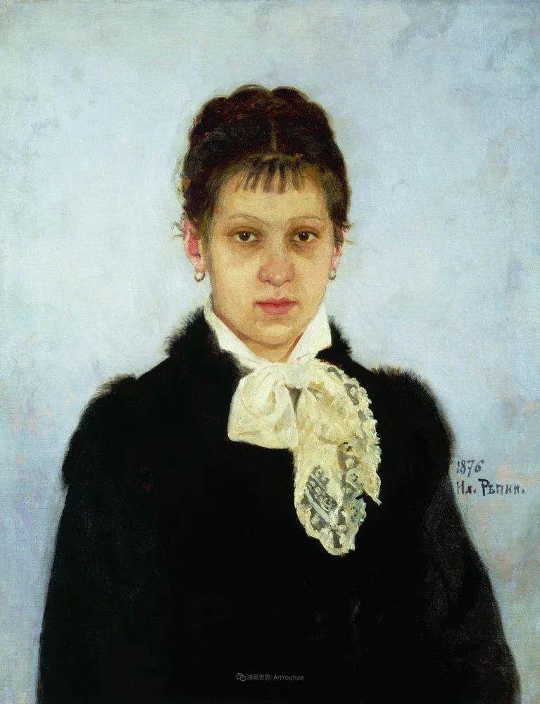 列宾 | 女性肖像作品精选 82幅插图32