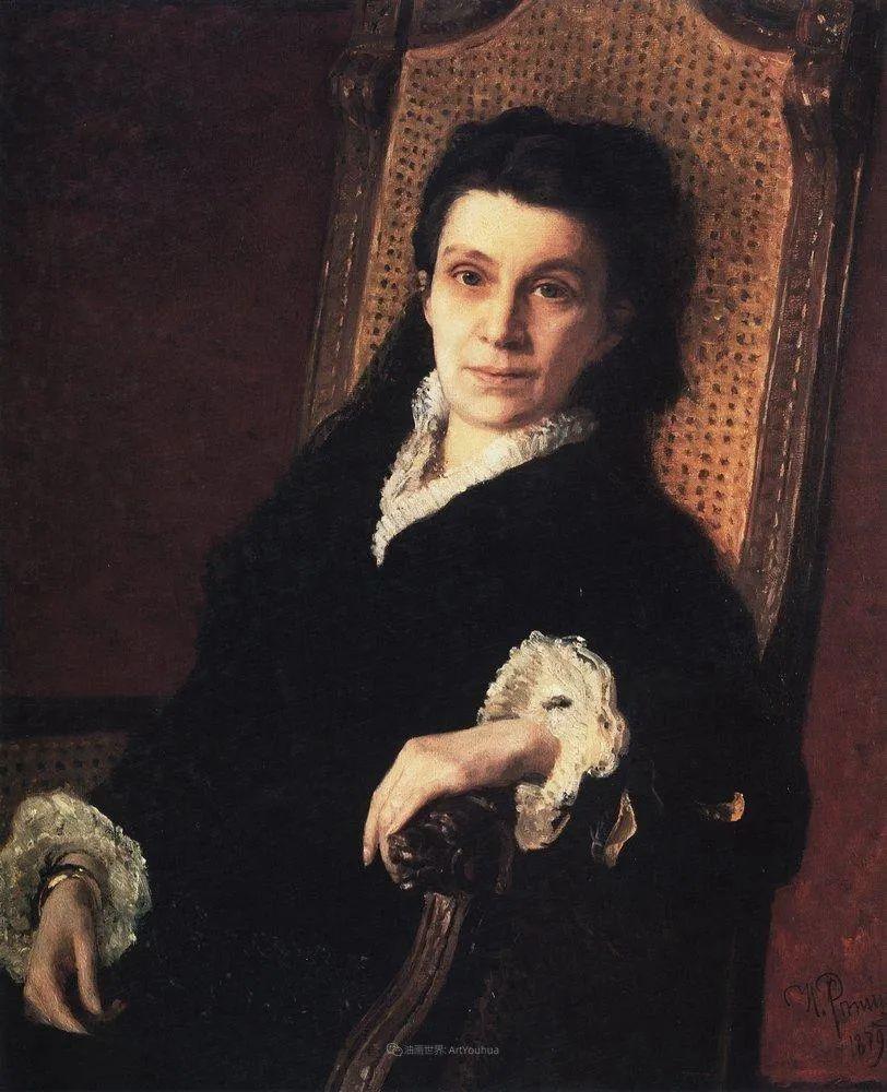 列宾 | 女性肖像作品精选 82幅插图46