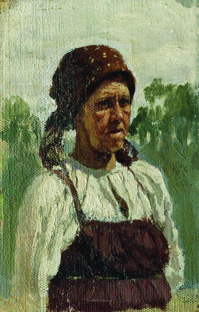 列宾 | 女性肖像作品精选 82幅插图47