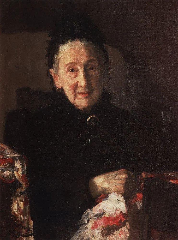 列宾 | 女性肖像作品精选 82幅插图66