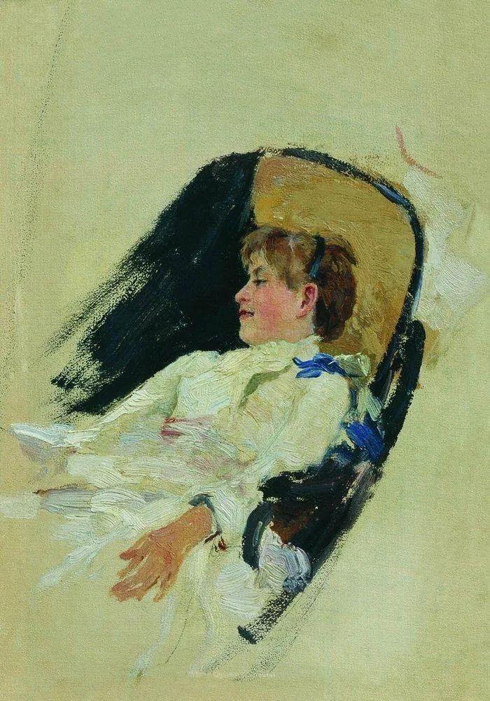 列宾 | 女性肖像作品精选 82幅插图67