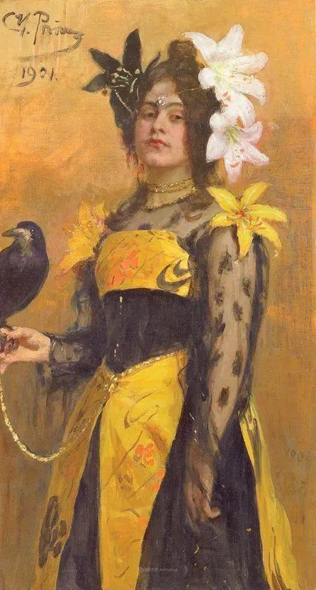 列宾 | 女性肖像作品精选 82幅插图74